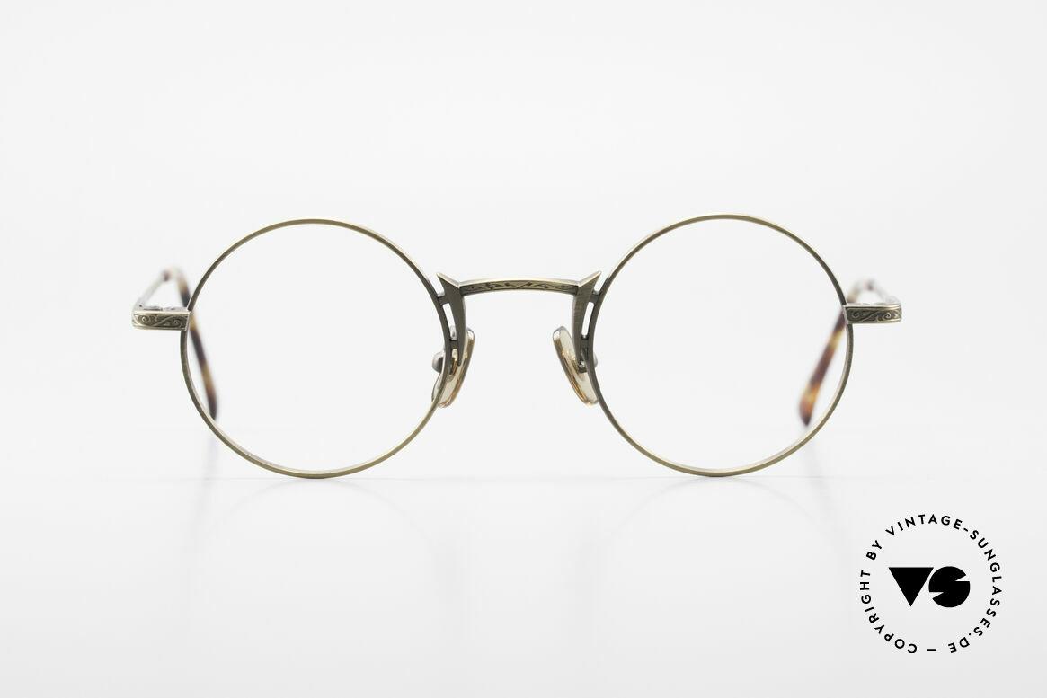 """Freudenhaus Domo Round Designer Eyeglasses, 'Freudenhaus' means """"cathouse / house of pleasure"""", Made for Men"""