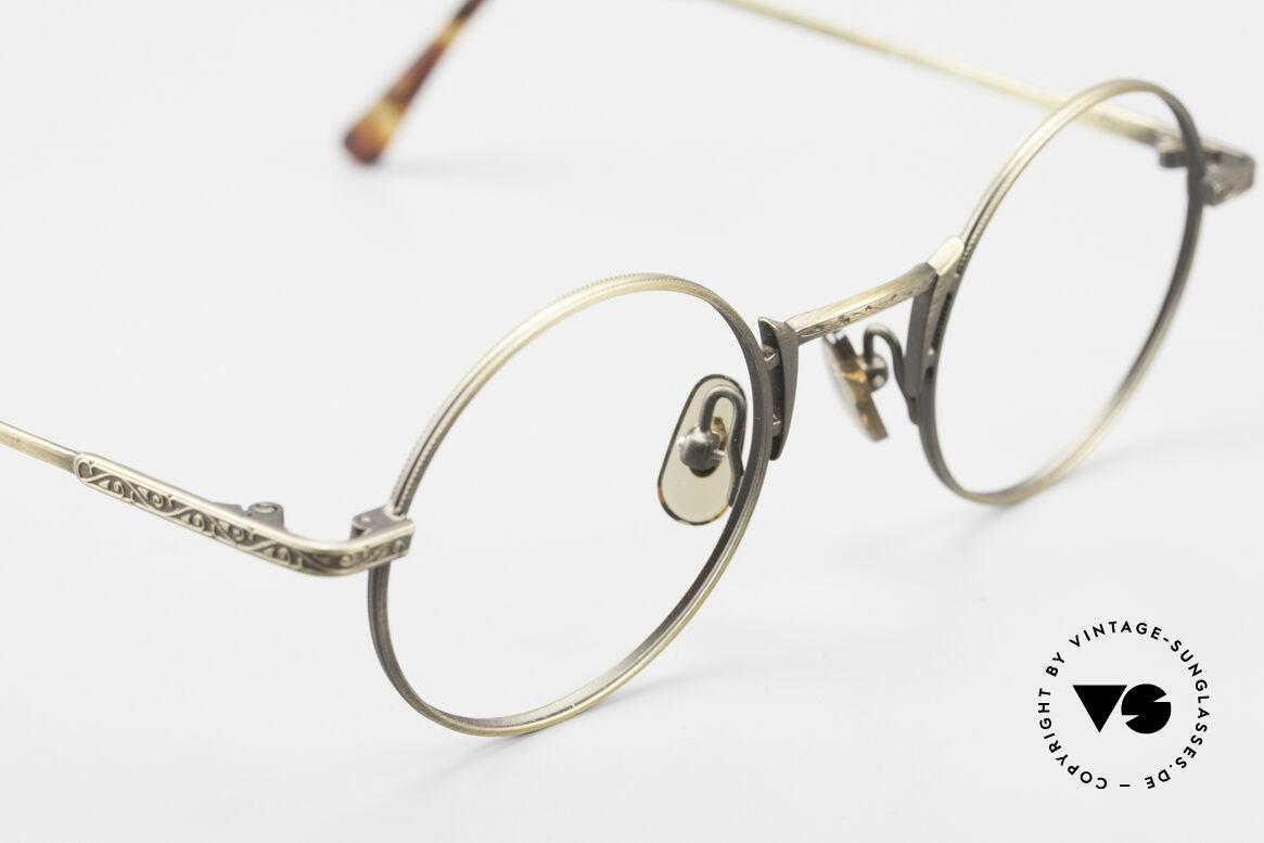 Freudenhaus Domo Round Designer Eyeglasses, unworn (like all our rare vintage designer eyeglasses), Made for Men