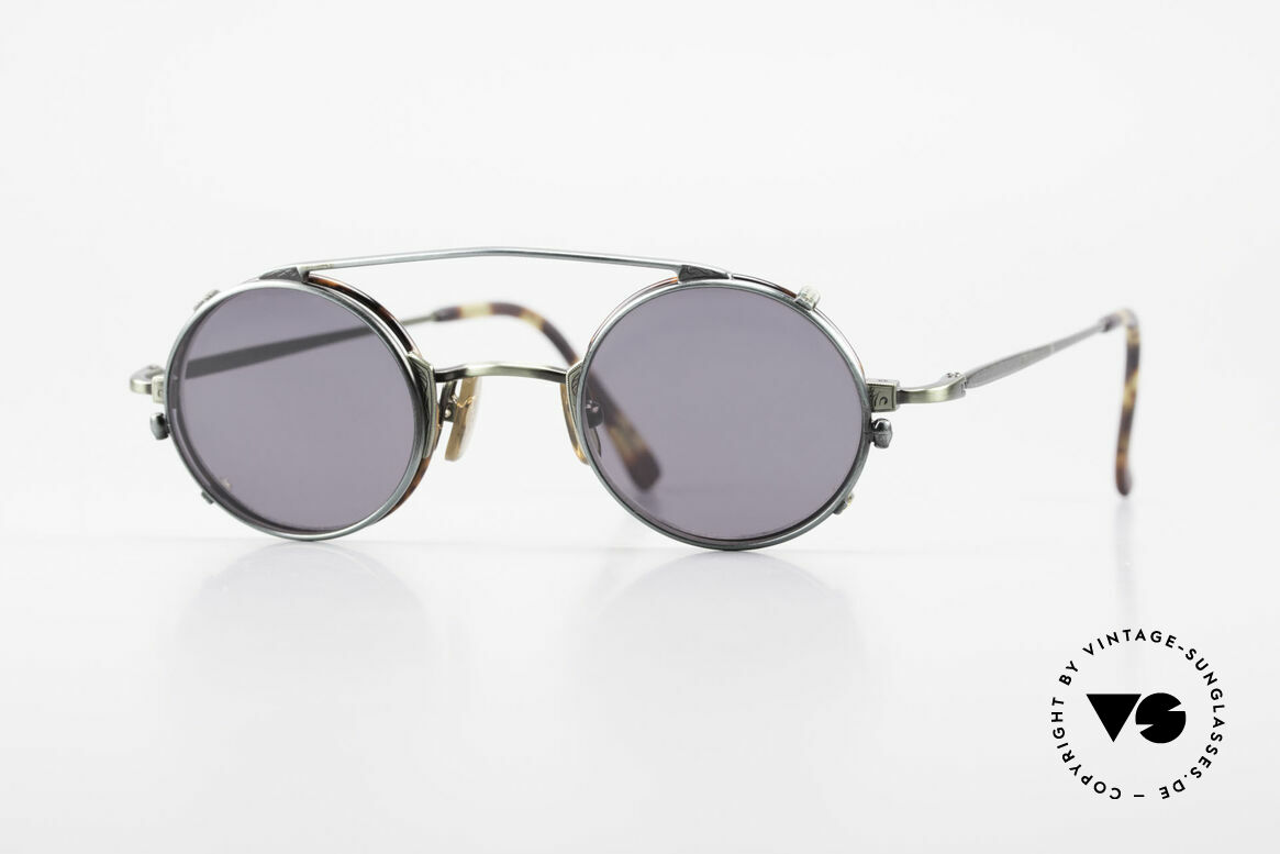 Freudenhaus Tori Small Round Frame Clip On, vintage designer glasses by FREUDENHAUS, Munich, Made for Men and Women