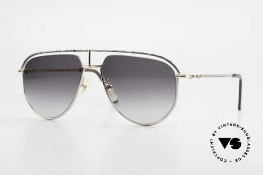 Christian Dior 2582 Rare 80's Men's Sunglasses Details