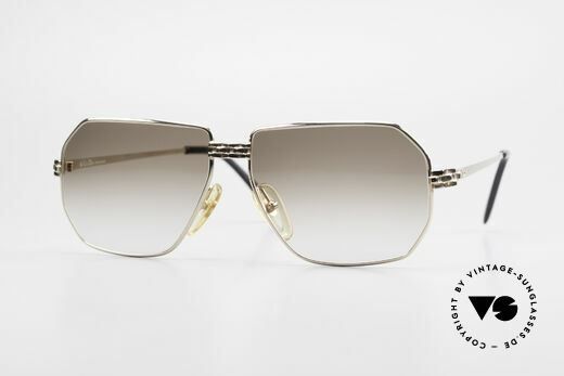 Christian Dior 2391 Old 80's Men's Glasses Vintage Details