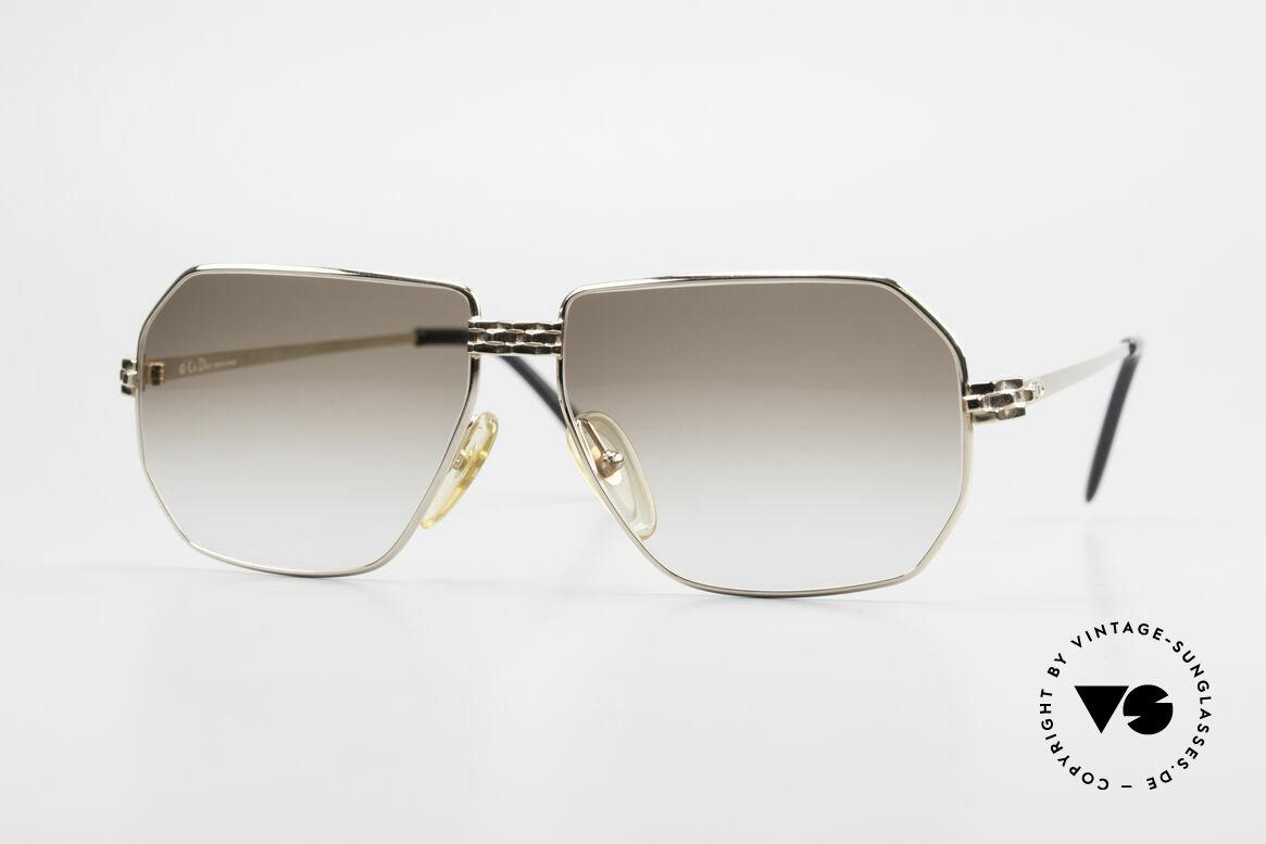 Christian Dior 2391 Old 80's Men's Glasses Vintage, noble Christian Dior men's sunglasses from 1988, Made for Men