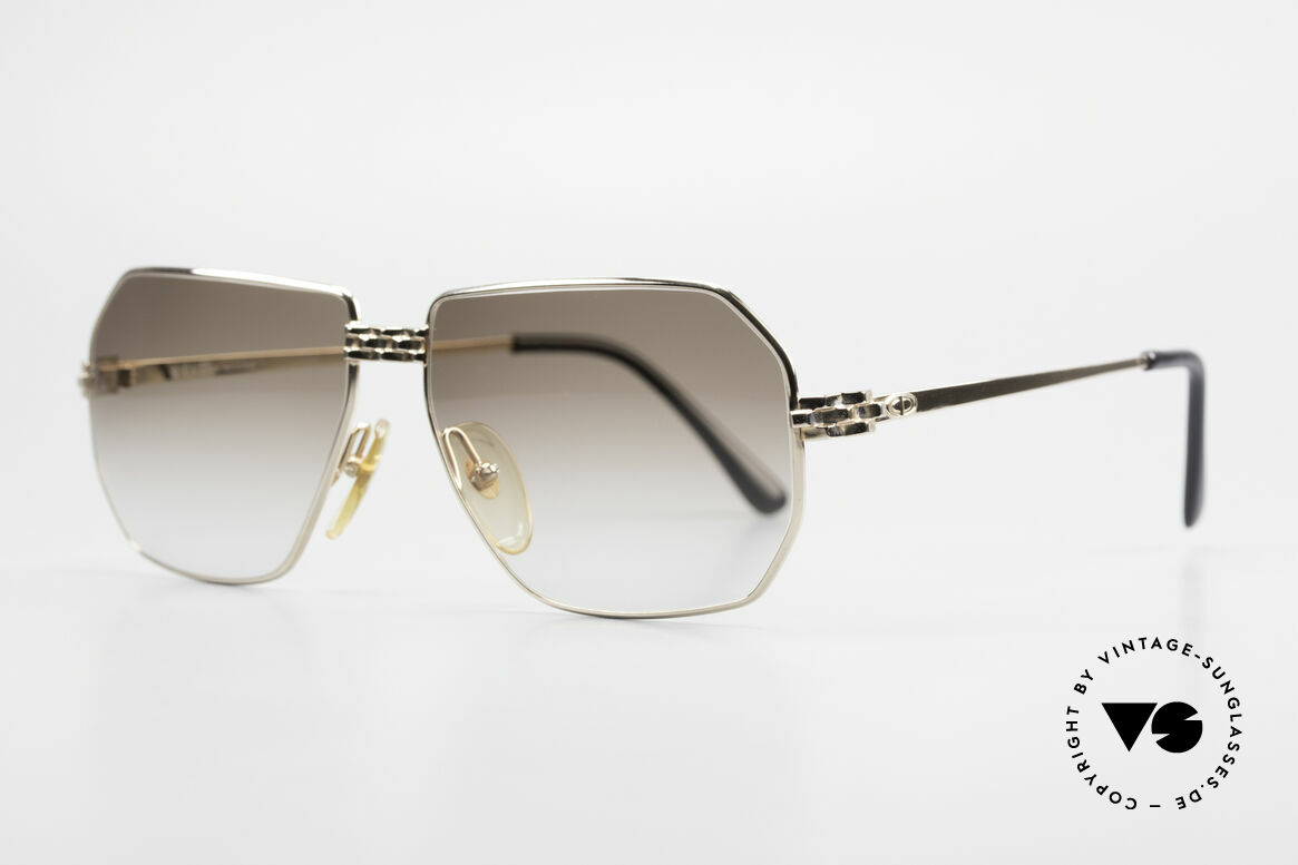Christian Dior 2391 Old 80's Men's Glasses Vintage, exciting metal works at bridge and temple hinges, Made for Men