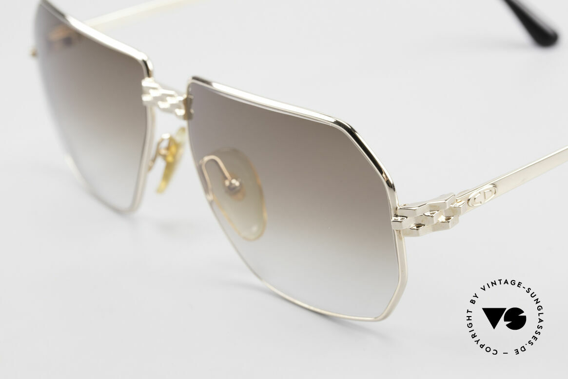 Christian Dior 2391 Old 80's Men's Glasses Vintage, timeless quality - the metal shines as it always did, Made for Men