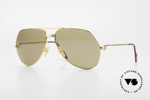 Cartier Vendome LC - L Original Cartier Mineral Lenses Details