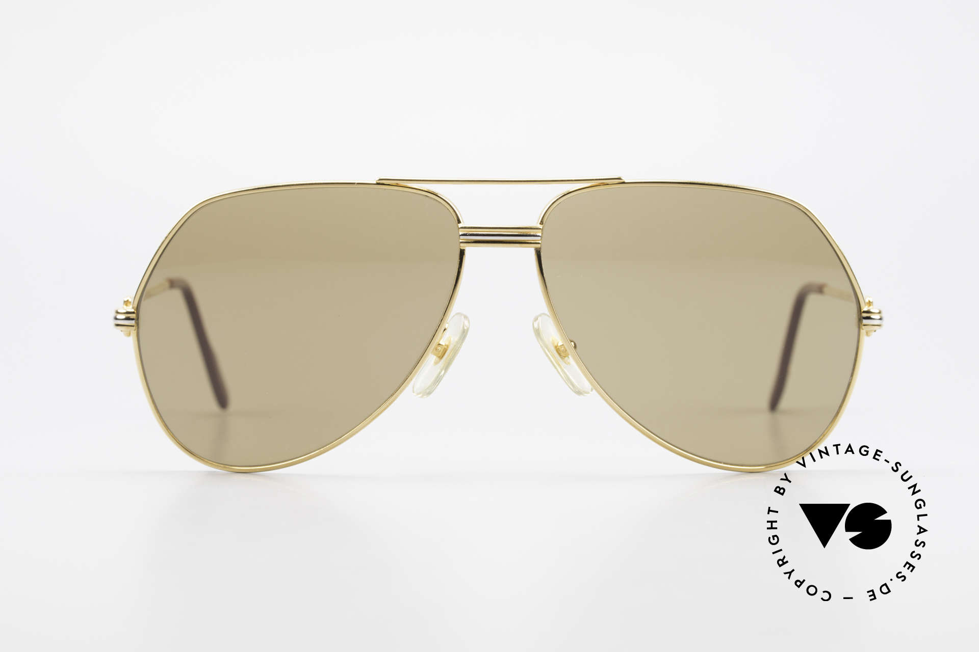"""Cartier Vendome LC - L Original Cartier Mineral Lenses, mod. """"Vendome"""" was launched in 1983 & made till 1997, Made for Men"""