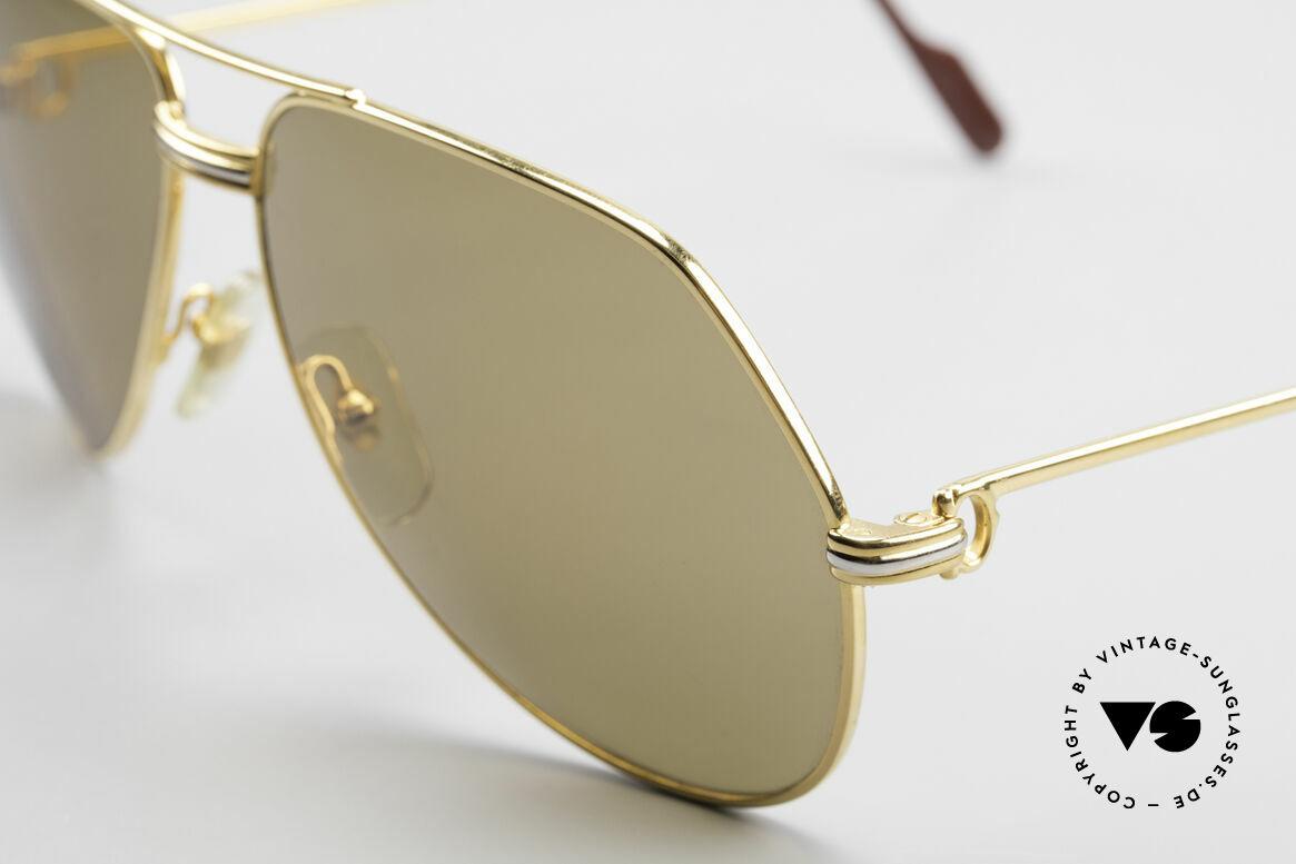 Cartier Vendome LC - L Original Cartier Mineral Lenses, orig. Cartier sun lenses with the HIDDEN Cartier LOGO, Made for Men