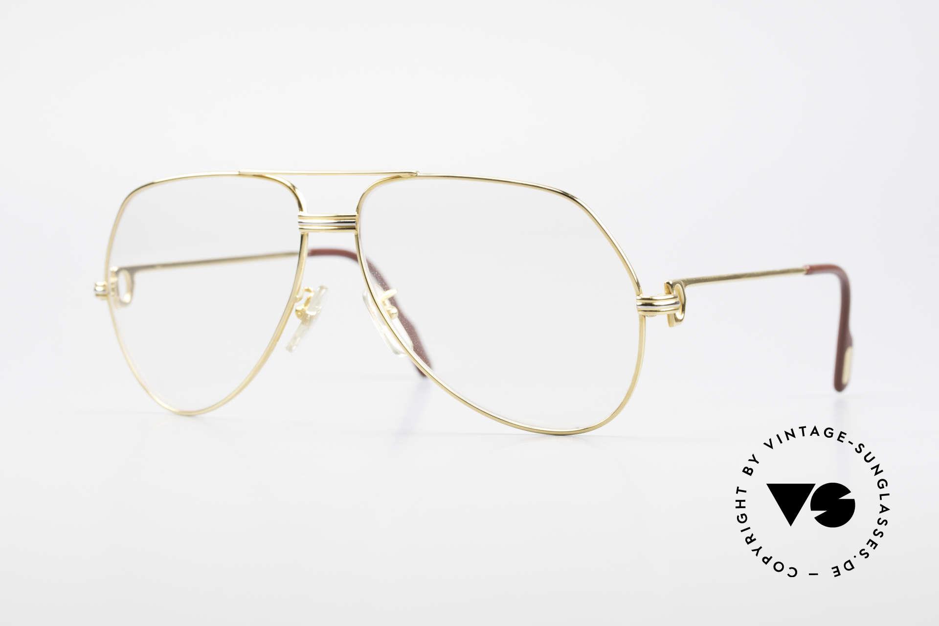 Cartier Vendome LC - L Changeable Cartier Sun Lenses, Vendome = the most famous eyewear design by CARTIER, Made for Men