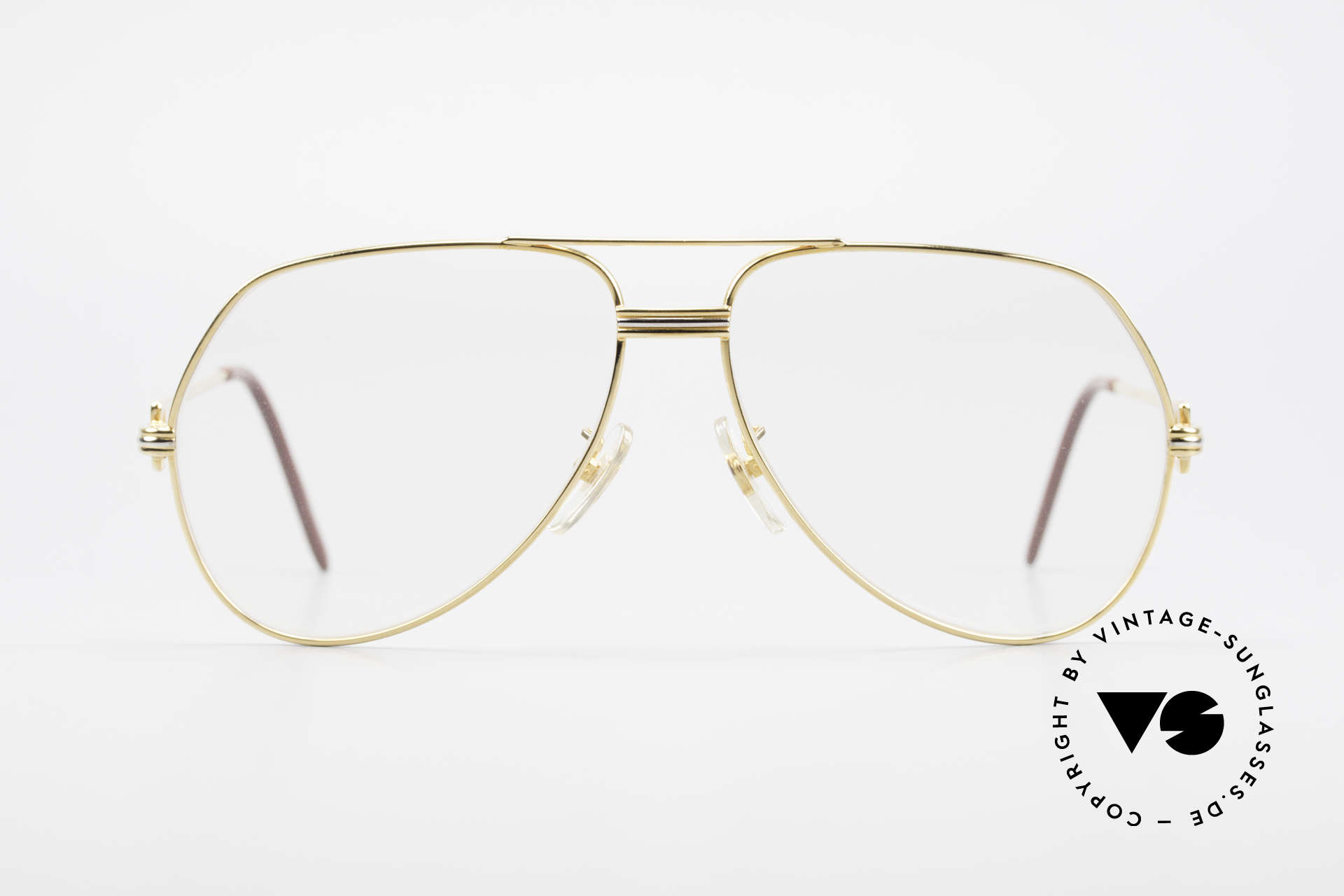 """Cartier Vendome LC - L Changeable Cartier Sun Lenses, mod. """"Vendome"""" was launched in 1983 & made till 1997, Made for Men"""