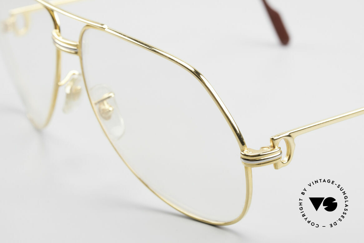 Cartier Vendome LC - L Changeable Cartier Sun Lenses, the lenses are darker in the sun and lighter in the shade, Made for Men