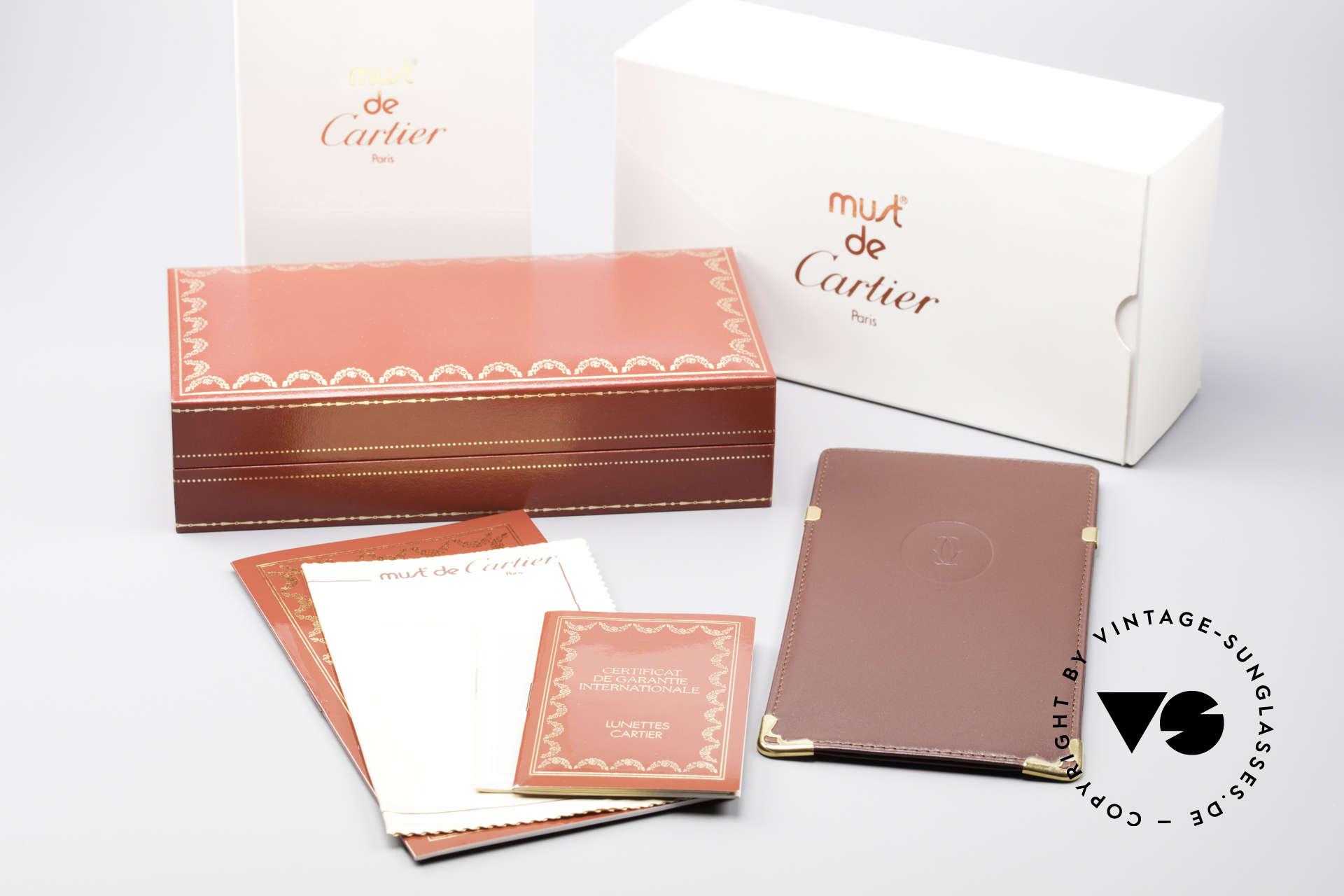 Cartier Vendome LC - L Changeable Cartier Sun Lenses, Size: large, Made for Men