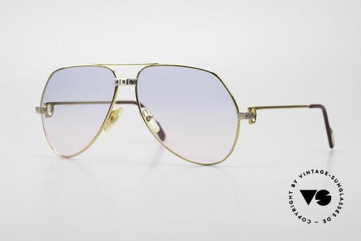 Cartier Vendome Santos - L Rare Luxury 80's Sunglasses Details