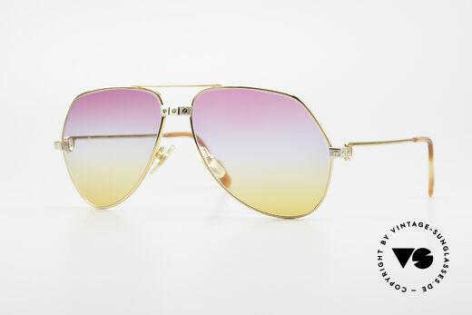 Cartier Vendome Santos - L Rare Aviator 80's Sunglasses Details