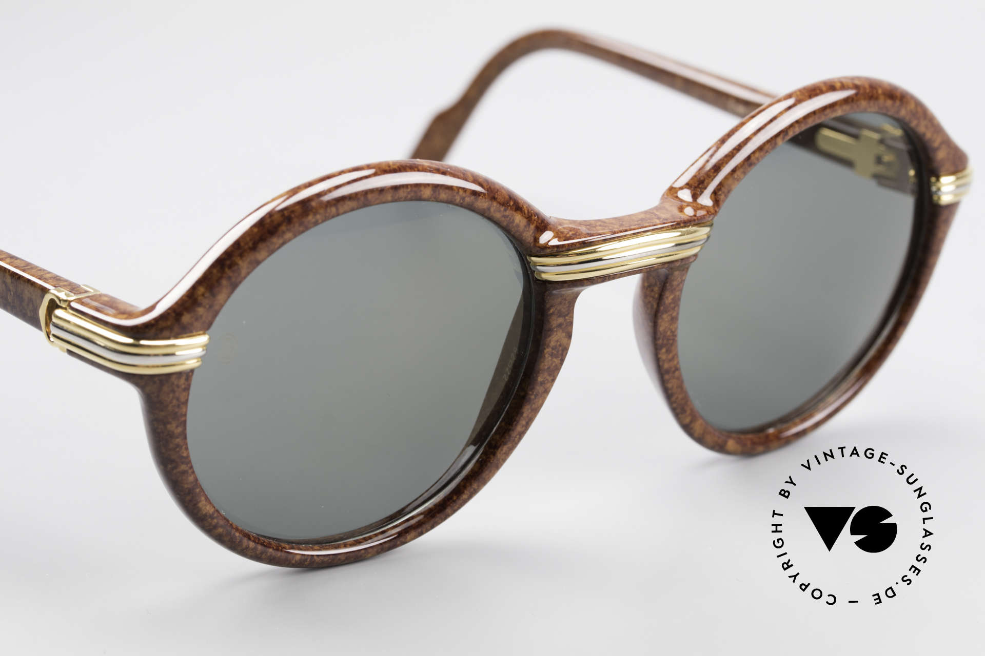 Cartier Cabriolet Round Luxury Shades Large, with serial number, Cartier box, leather case & packing, Made for Men and Women