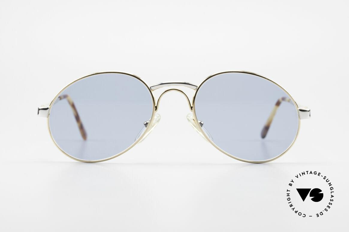 Bugatti 03308 True Vintage 80's Sunglasses, distinctive Bugatti 'tear drop' shape; with orig. case, Made for Men
