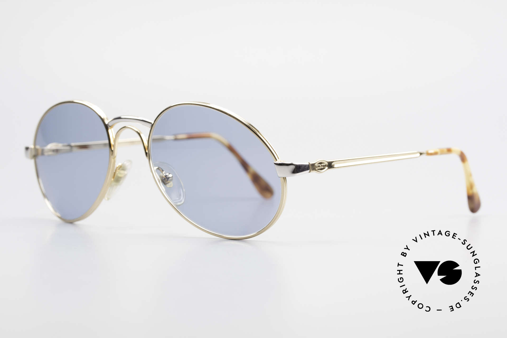 Bugatti 03308 True Vintage 80's Sunglasses, metal frame with spring hinges (1st class comfort), Made for Men