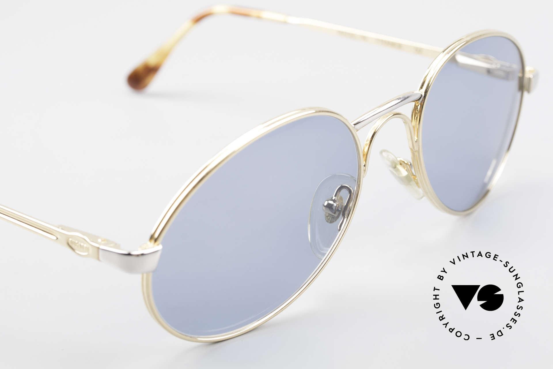 Bugatti 03308 True Vintage 80's Sunglasses, unworn (like all our vintage Bugatti designer shades), Made for Men