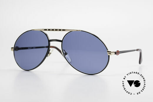 Bugatti 02927 Large 80's Sunglasses For Men Details