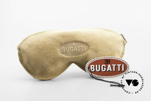 Bugatti 02927 Large 80's Sunglasses For Men, dark blue sun lenses can be replaced with prescriptions, Made for Men