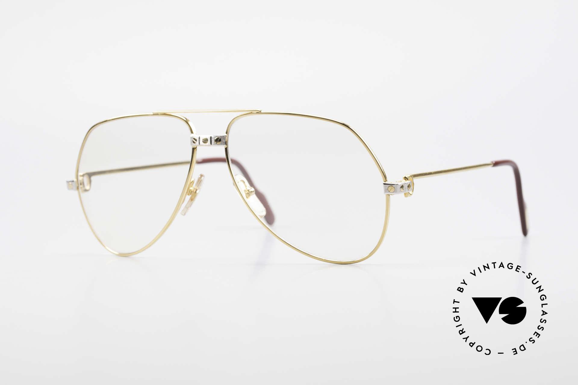 Cartier Vendome Santos - M Changeable Cartier Lenses, Vendome = the most famous eyewear design by CARTIER, Made for Men
