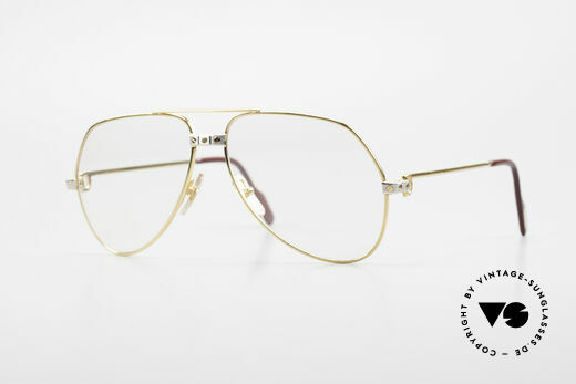 Cartier Vendome Santos - M Changeable Cartier Lenses Details