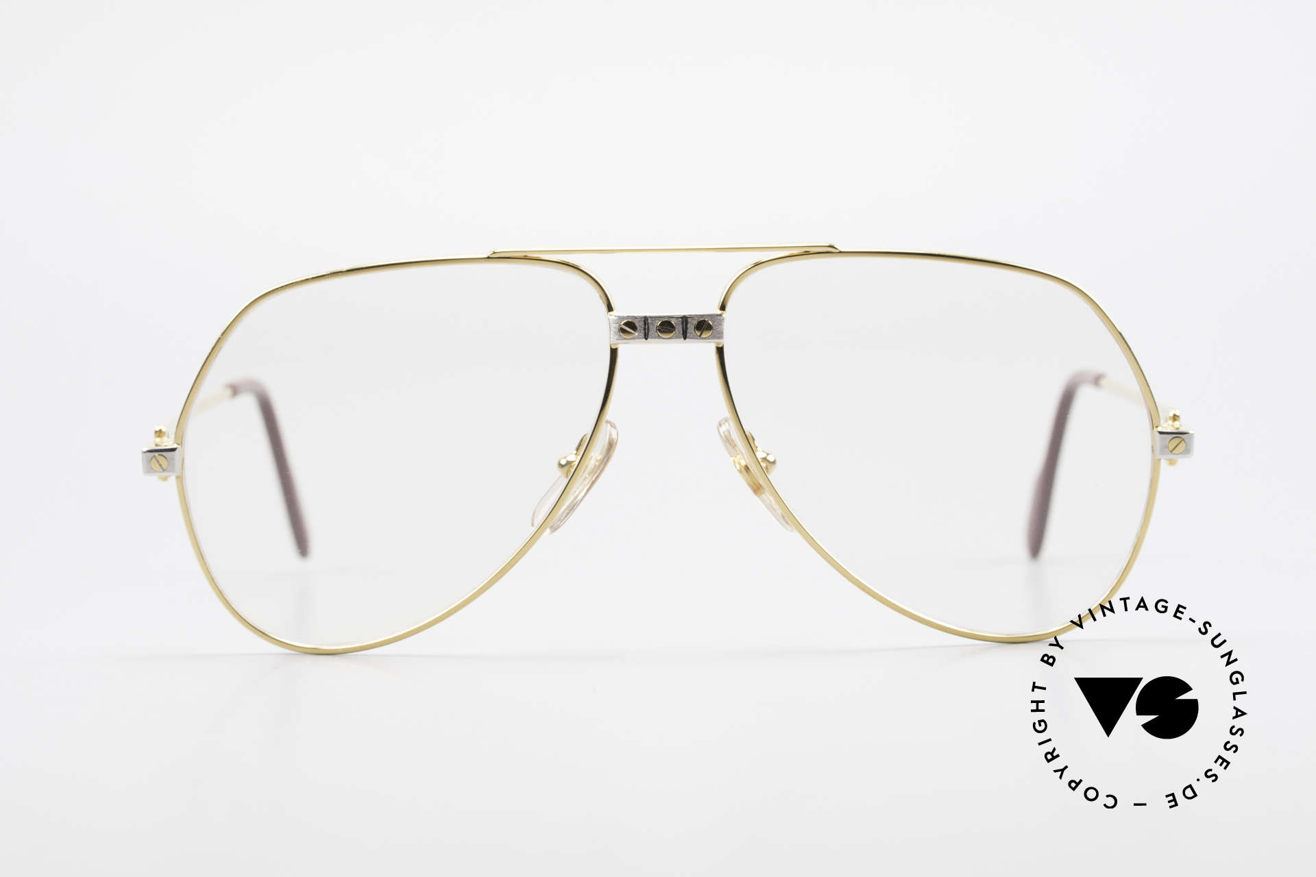 """Cartier Vendome Santos - M Changeable Cartier Lenses, mod. """"Vendome"""" was launched in 1983 & made till 1997, Made for Men"""