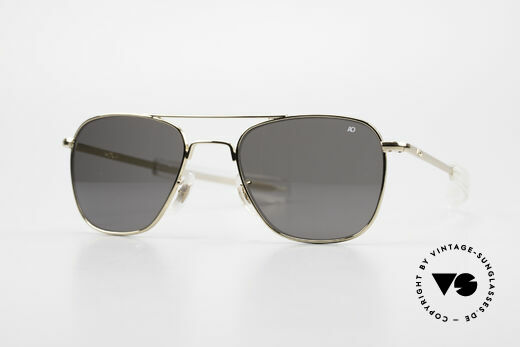 American Optical AO Original Pilot USA Brille Details