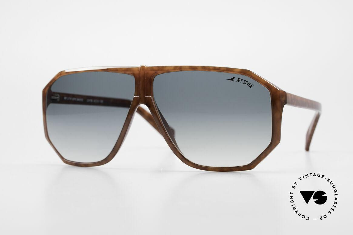 Silhouette M4019 JetStyle Aviator Sunglasses, rare vintage designer sunglasses by Silhouette, Made for Men