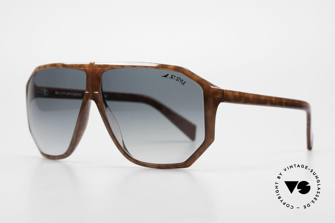 Silhouette M4019 JetStyle Aviator Sunglasses, striking masculine aviator design in LARGE size, Made for Men