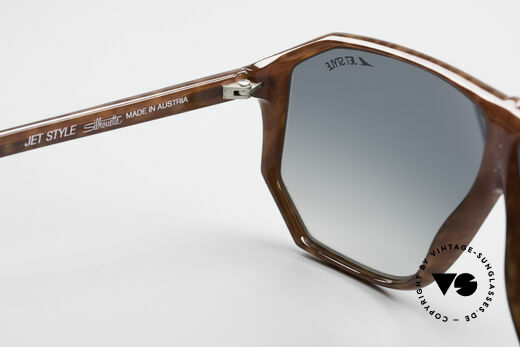 Silhouette M4019 JetStyle Aviator Sunglasses, NO RETRO FASHION, but a 35 years old RARITY, Made for Men