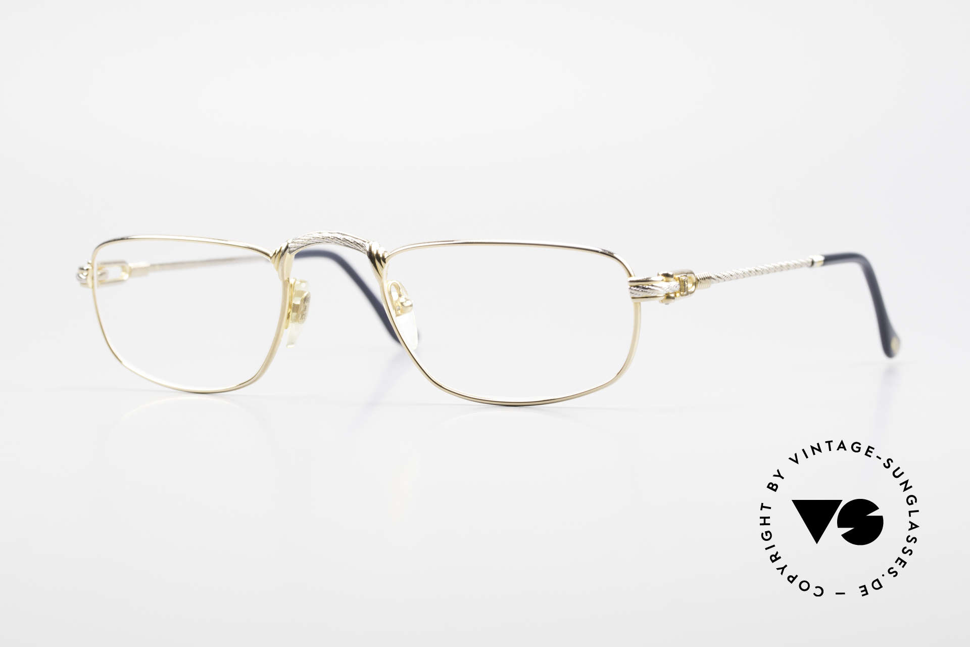 Fred Demi Lune Half Moon Reading Glasses, vintage reading glasses by Fred, Paris from the 1990's, Made for Men and Women