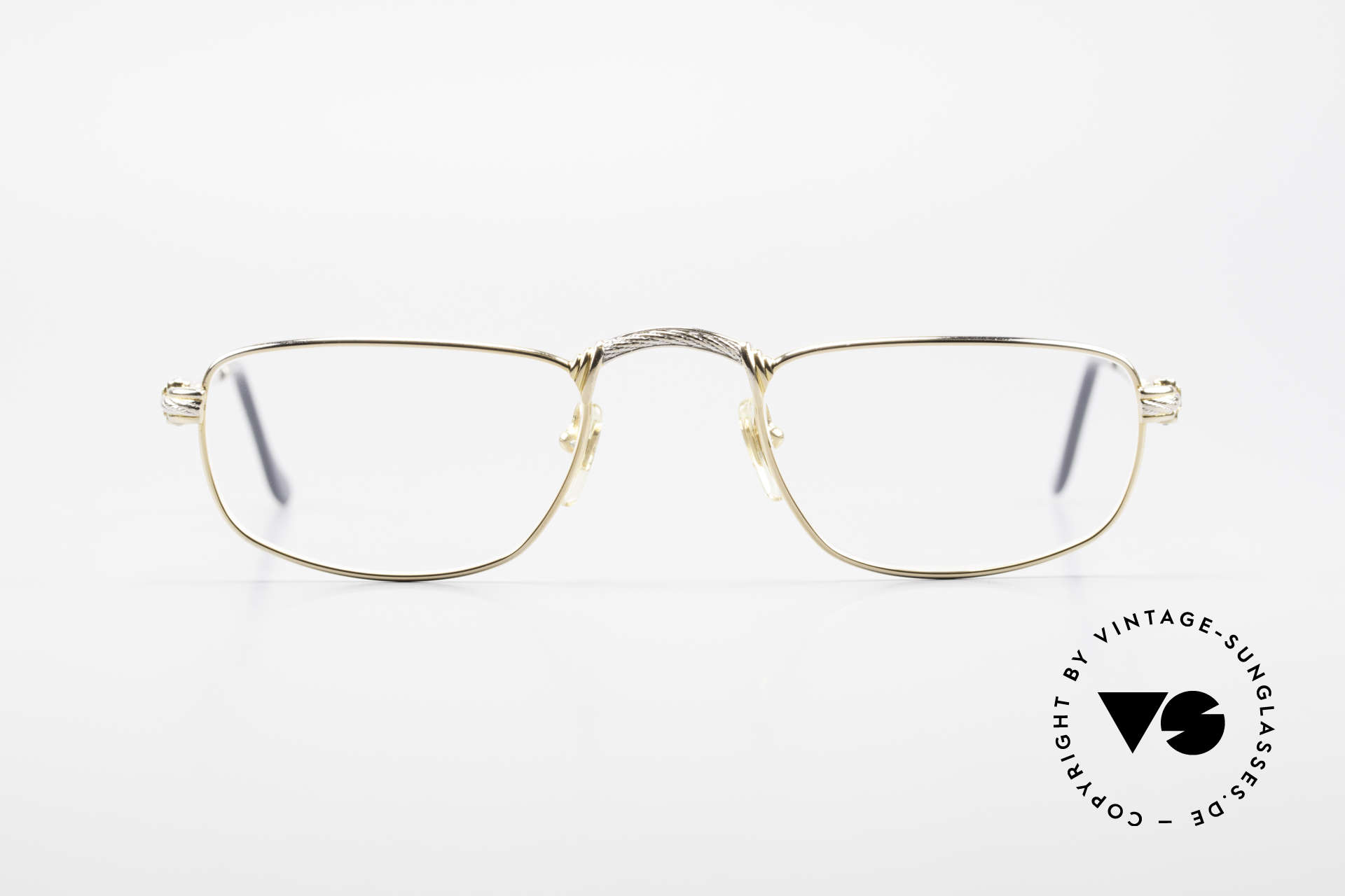 Fred Demi Lune Half Moon Reading Glasses, marine design (distinctive Fred) in HIGH-END quality, Made for Men and Women