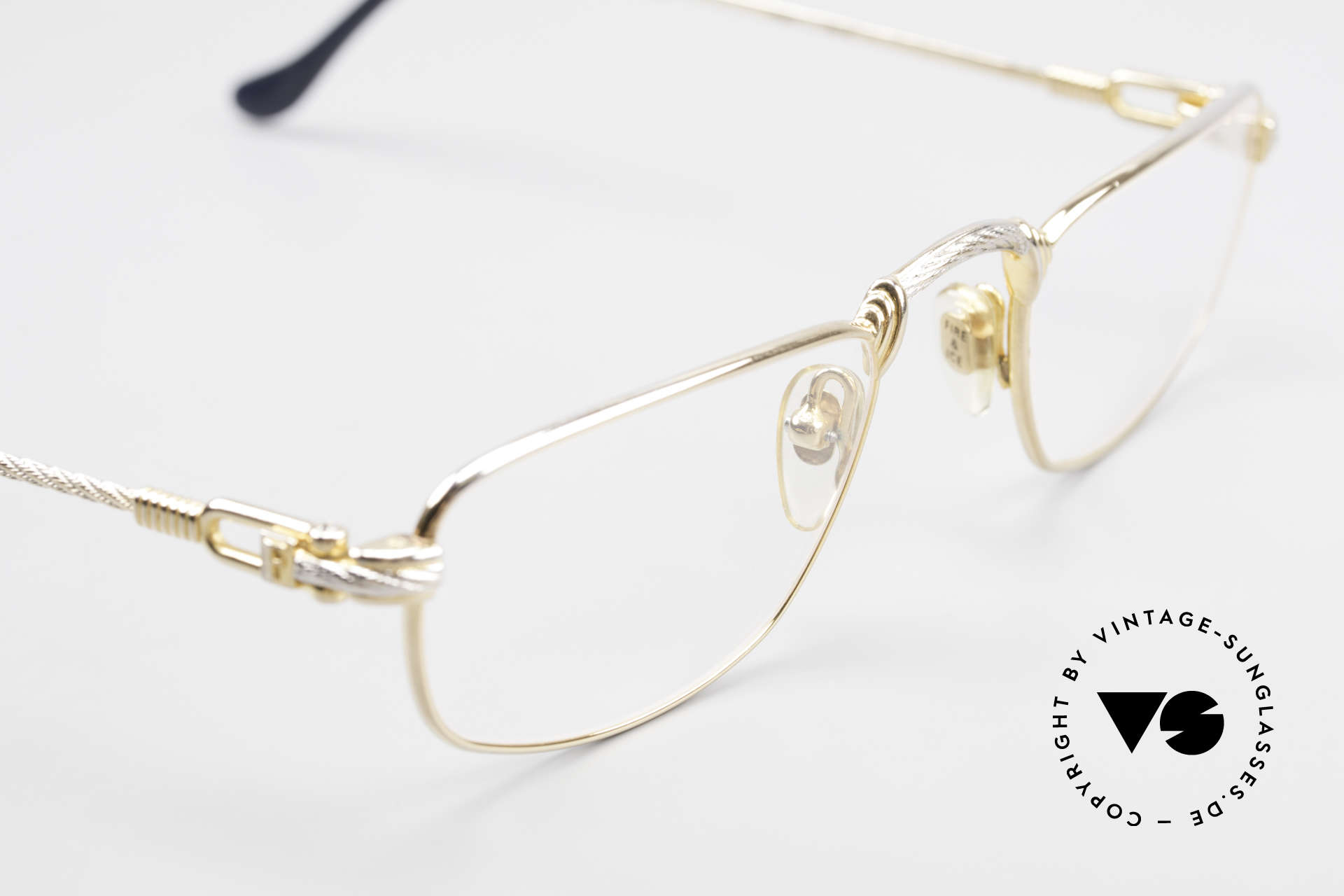 Fred Demi Lune Half Moon Reading Glasses, NO RETRO; original 90's commodity; rarity and vertu!, Made for Men and Women