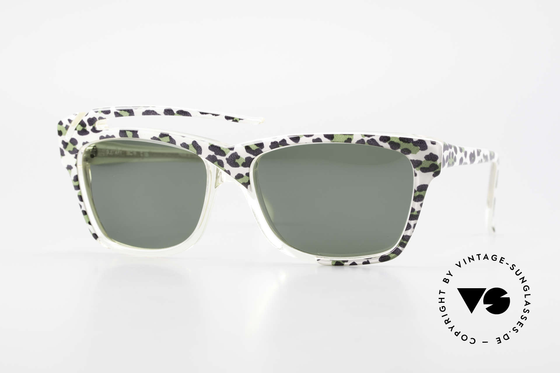 Gerard Levet Guetary A Tribute To Feminity, vintage 'Eye-Catcher' sunglasses by Gérard Levet, Made for Women