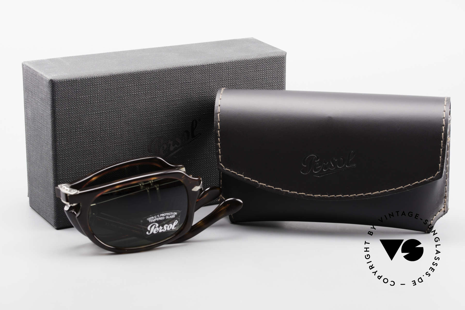 Persol 2621 Folding Foldable Sunglasses For Men, Size: medium, Made for Men