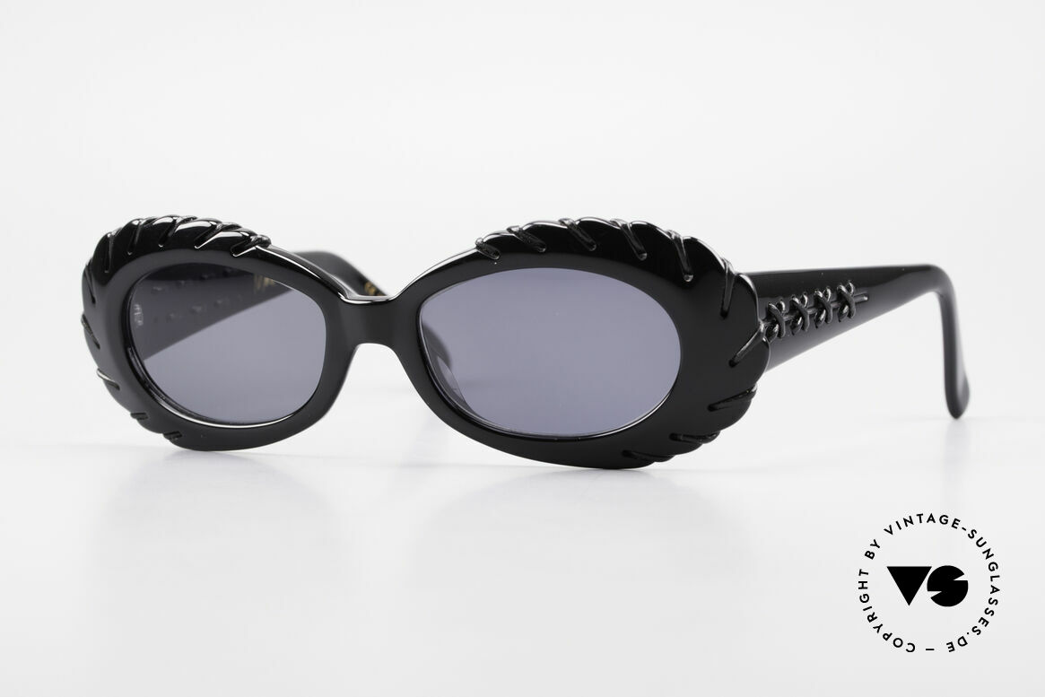Claude Montana 705 1990's Design by Alain Mikli, vintage Claude Montana sunglasses from the early 90s, Made for Women