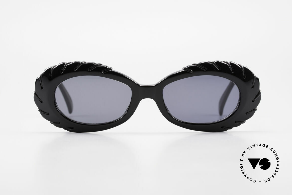 Claude Montana 705 1990's Design by Alain Mikli, well-known for massive designs and heavy XL frames, Made for Women