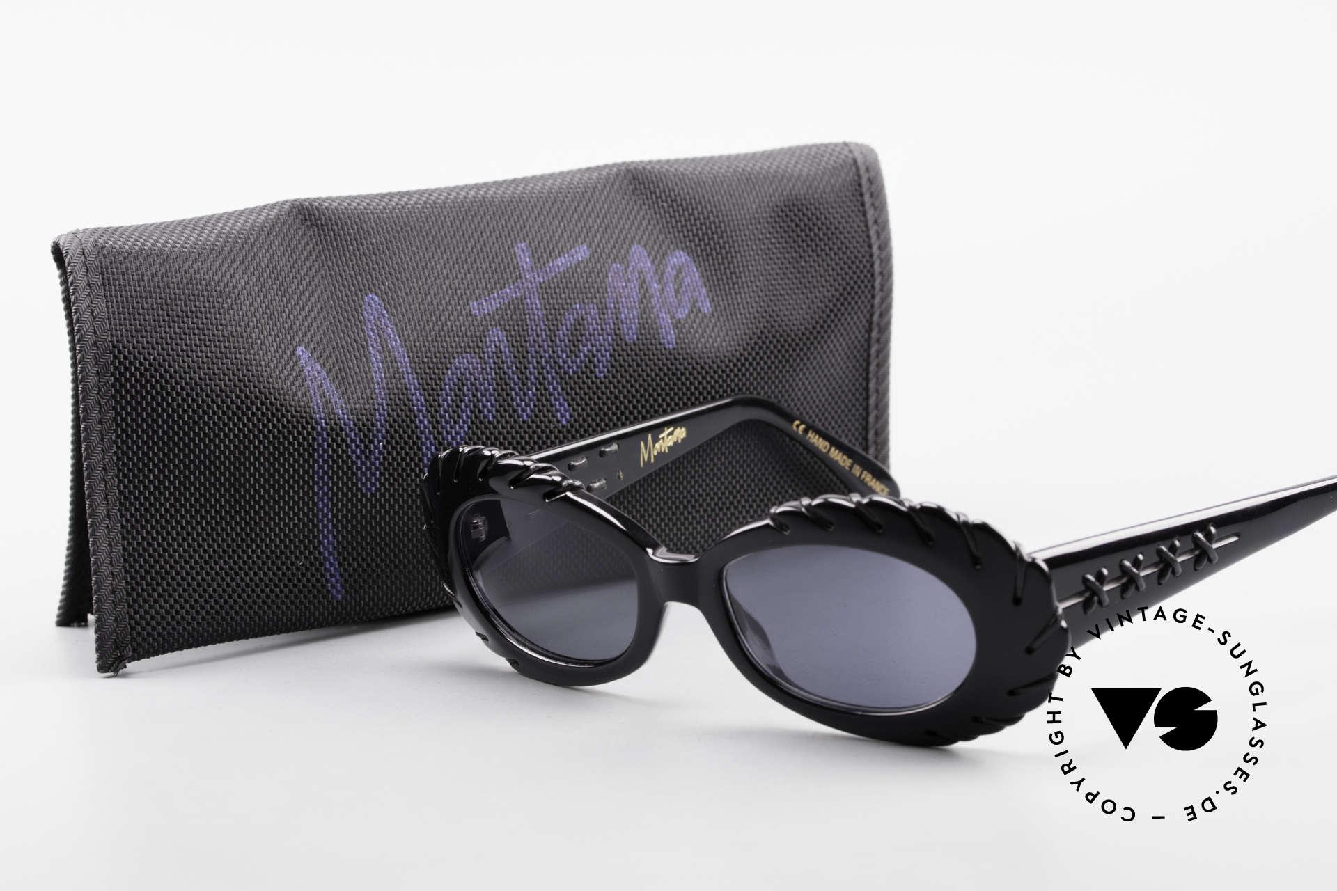 Claude Montana 705 1990's Design by Alain Mikli, NO RETRO fashion-shades, but a unique old ORIGINAL, Made for Women