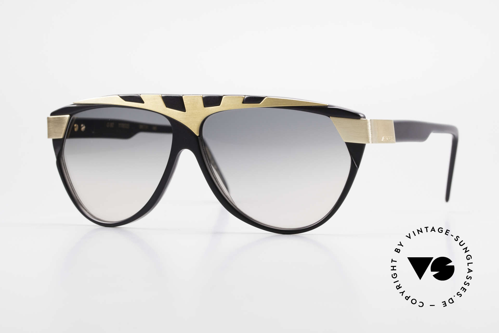 Alpina G80 Gold Plated 80's Sunglasses, vintage model from the 'Genesis Project' by Alpina, Made for Men and Women
