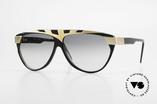 Alpina G80 Gold Plated 80's Sunglasses Details