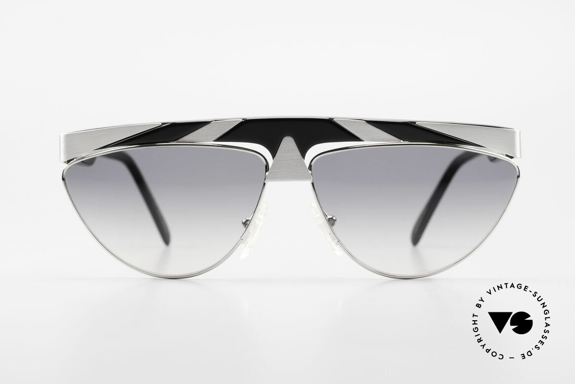 Alpina G85 Genesis Project 80's Shades, conspicuous frame design with ornamenting details, Made for Men and Women