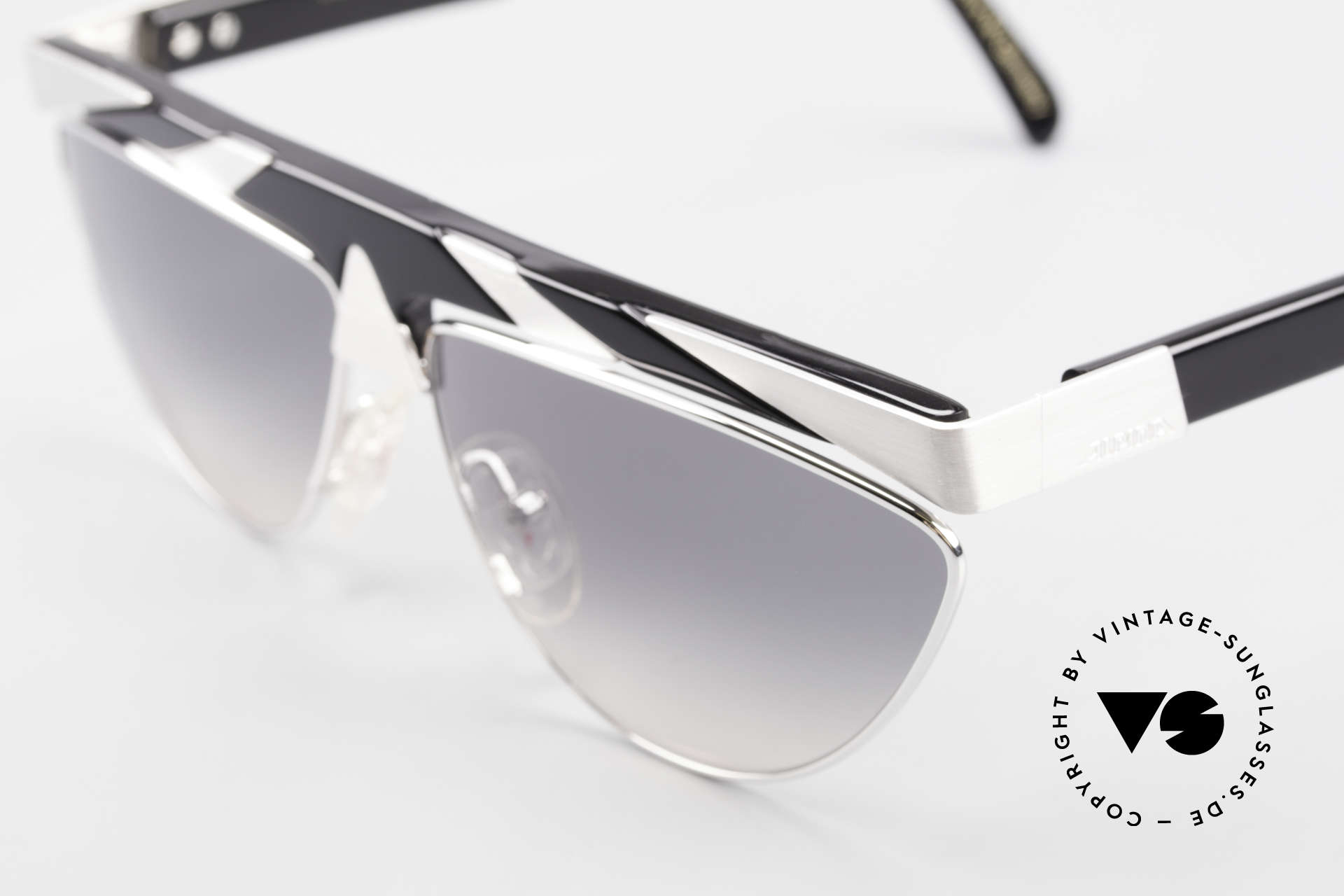 Alpina G85 Genesis Project 80's Shades, top notch quality (with silver-plated metal appliqué), Made for Men and Women