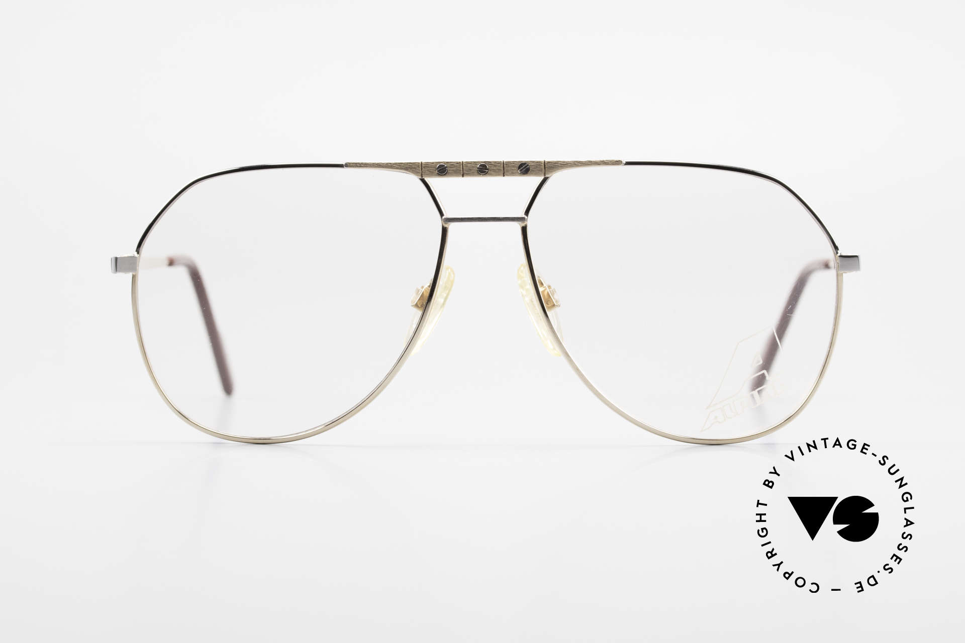 Alpina FM27 Classic Aviator Eyeglasses 80s, tangible premium craftsmanship; made in W.Germany, Made for Men