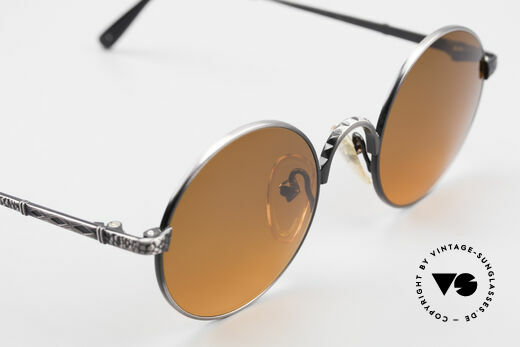 Jean Paul Gaultier 55-9671 Round 90's JPG Sunglasses, frame can be glazed with optical lenses, too!, Made for Men and Women