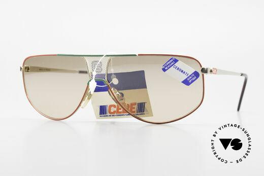 Cebe 0299 90's Ski Sports Sunglasses Details