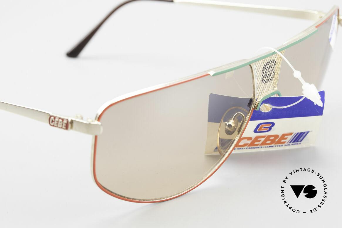 Cebe 0299 90's Ski Sports Sunglasses, never worn (like all our vintage CEBE sports sunglasses), Made for Men and Women
