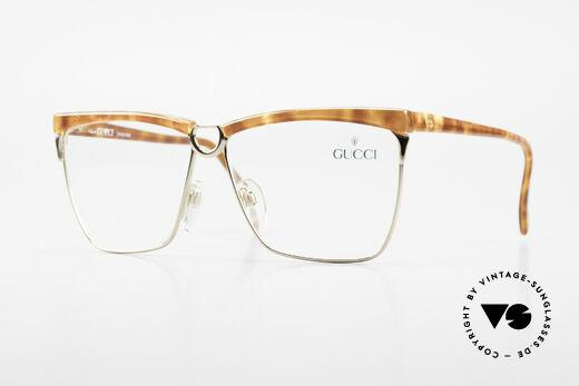 Gucci 2301 Ladies Designer Eyeglasses 80s Details
