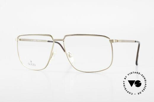 Gucci 1214 Classic 80's Eyeglasses Unisex Details
