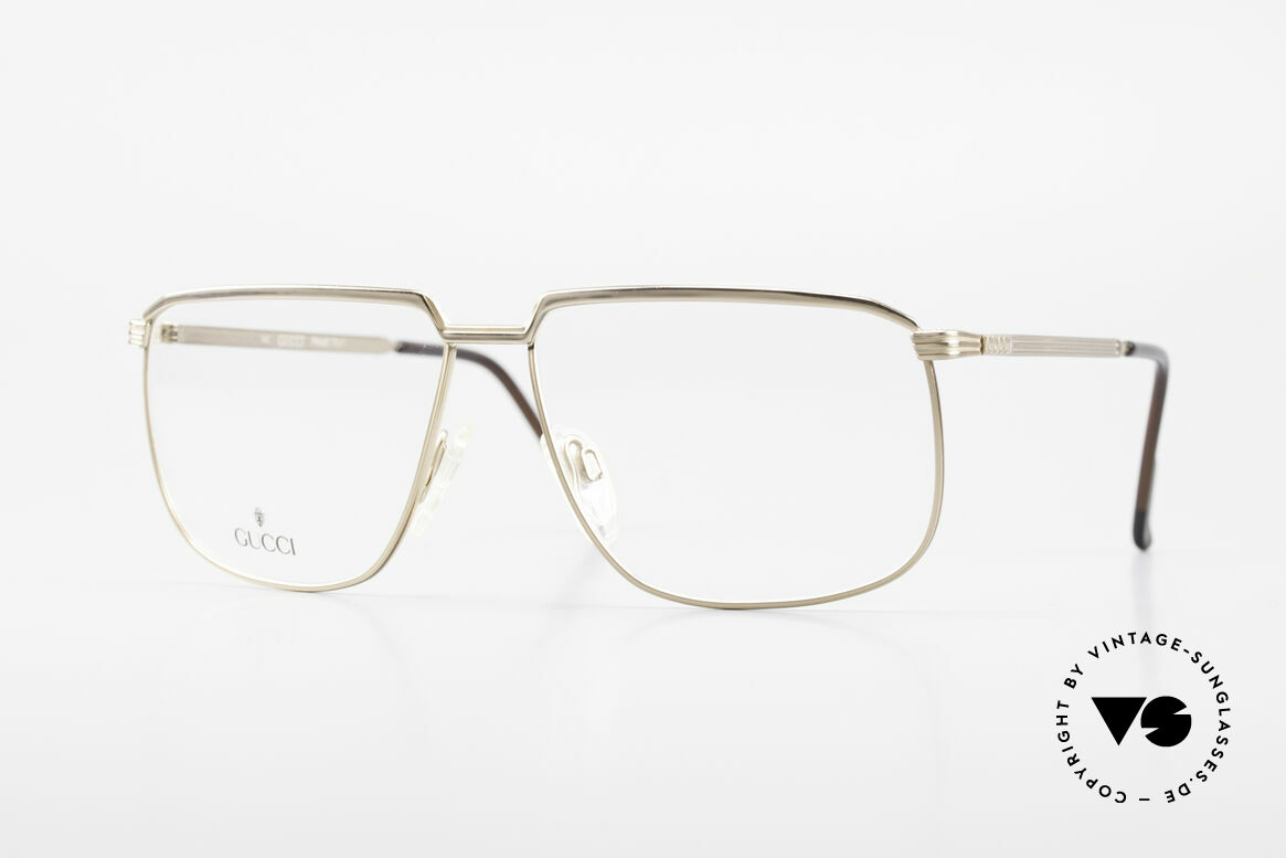 Gucci 1214 Classic 80's Eyeglasses Unisex, classic vintage designer eyeglasses by GUCCI, Made for Men and Women