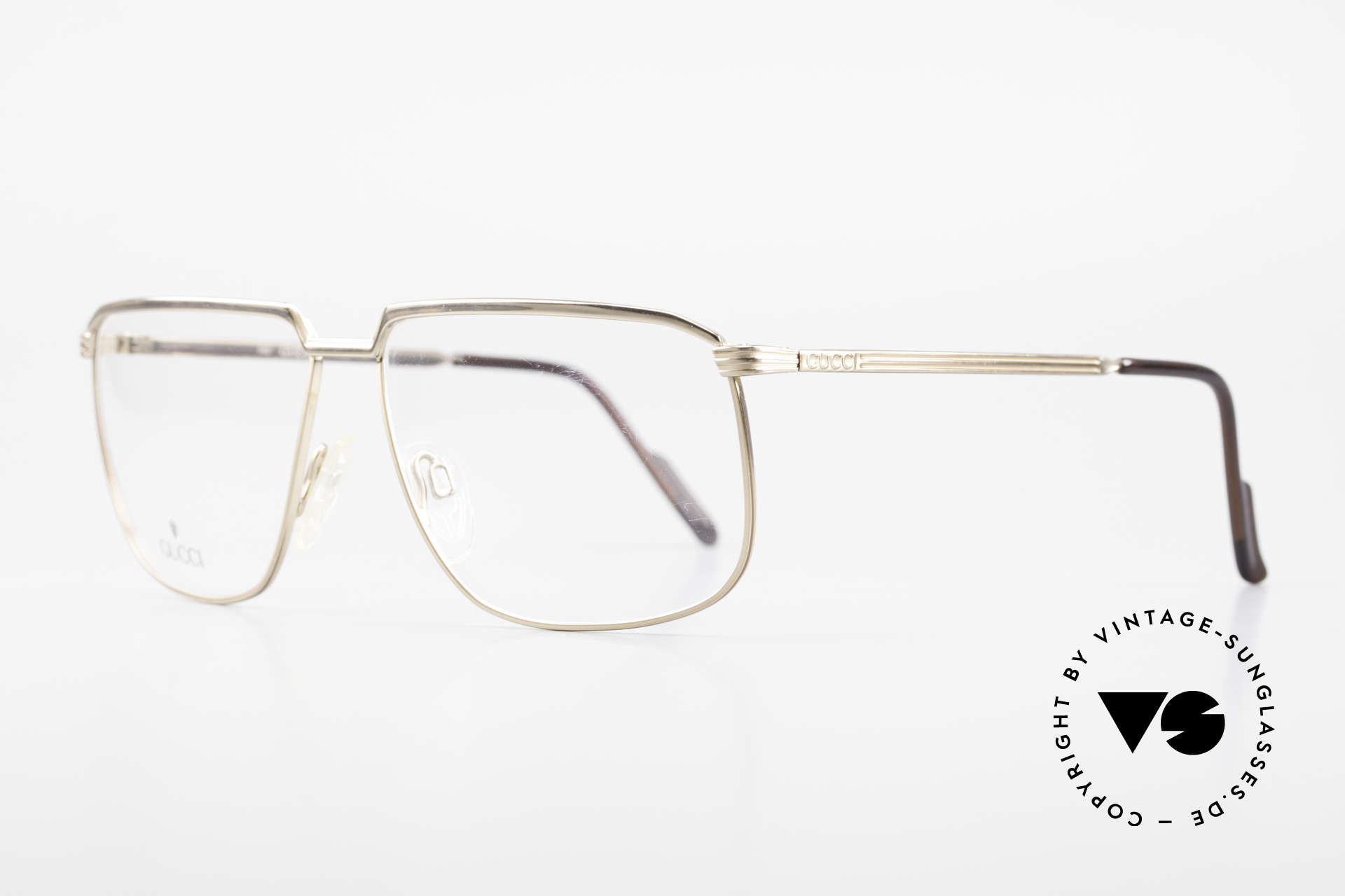 Gucci 1214 Classic 80's Eyeglasses Unisex, noble timless design, size 59/13, unisex specs, Made for Men and Women